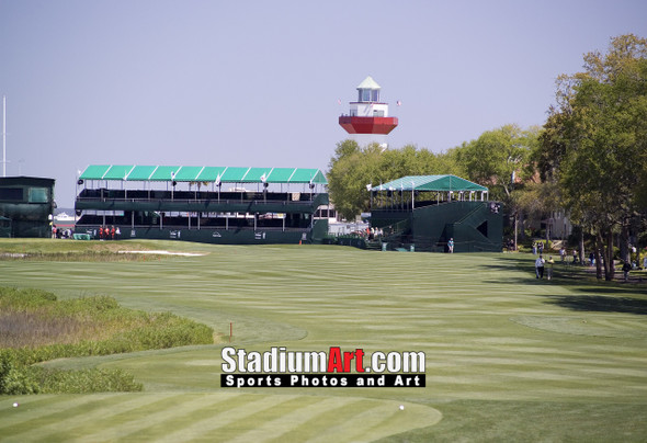 Harbour Town Golf Links at The Sea Pines Resort  Golf Hole 18  8x10-48x36 Photo Print 1260