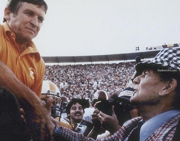 Tennessee Volunteers Johnny Majors Bear Bryant 02 UT Vols NCAA College Football CHOICES