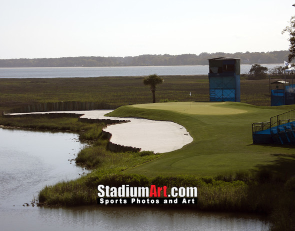 Harbour Town Golf Links at The Sea Pines Resort Golf Hole 17  8x10-48x36 Photo Print 1410