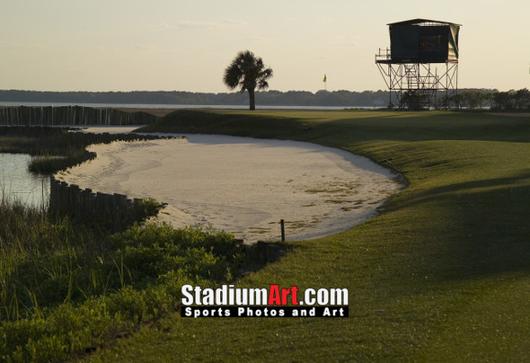 Harbour Town Golf Links at The Sea Pines Resort Golf Hole 17  8x10-48x36 Photo Print 1450