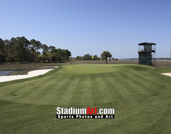 Harbour Town Golf Links at The Sea Pines Resort Golf Hole 17  8x10-48x36 Photo Print 1520