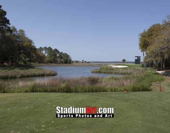 Harbour Town Golf Links at The Sea Pines Resort Golf Hole 17  8x10-48x36 Photo Print 1530
