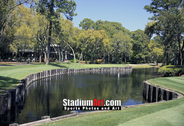 Harbour Town Golf Links at The Sea Pines Resort Golf Hole  8x10-48x36 Photo Print 1655
