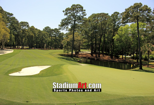 Harbour Town Golf Links at The Sea Pines Resort Golf Hole  8x10-48x36 Photo Print 1675