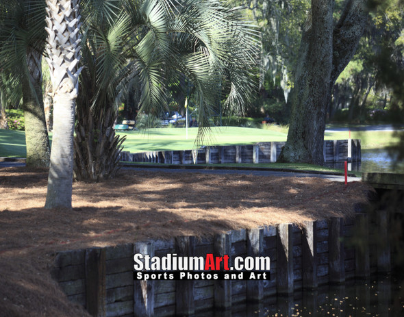 Harbour Town Golf Links at The Sea Pines Resort Golf Hole  8x10-48x36 Photo Print 1690