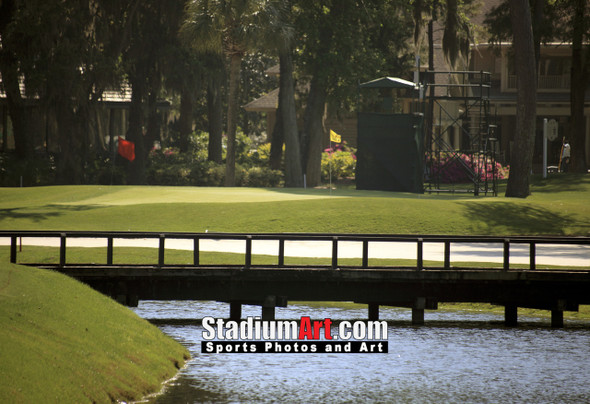 Harbour Town Golf Links at The Sea Pines Resort Golf Hole  8x10-48x36 Photo Print 1695