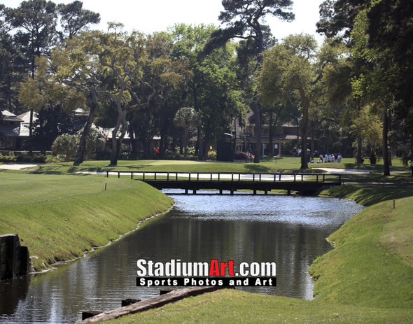 Harbour Town Golf Links at The Sea Pines Resort Golf Hole  8x10-48x36 Photo Print 1700