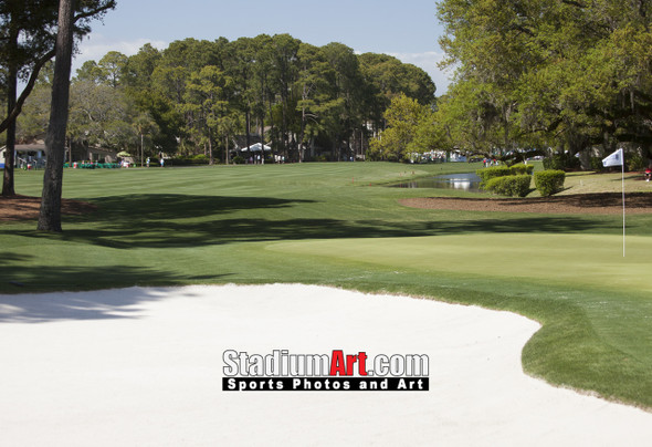 Harbour Town Golf Links at The Sea Pines Resort Golf Hole  8x10-48x36 Photo Print 1705