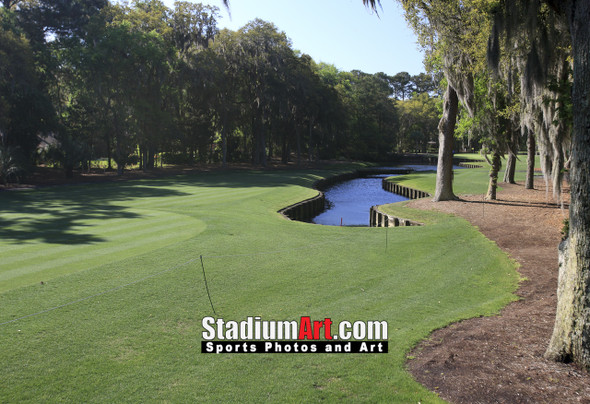 Harbour Town Golf Links at The Sea Pines Resort Golf Hole  8x10-48x36 Photo Print 1720