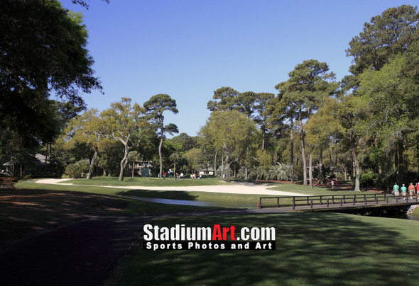 Harbour Town Golf Links at The Sea Pines Resort Golf Hole  8x10-48x36 Photo Print 1735