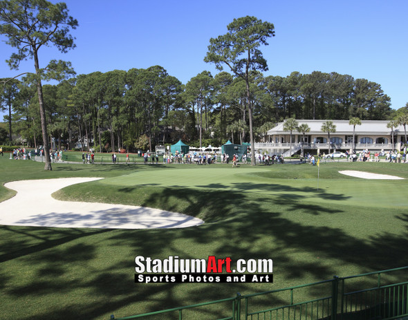 Harbour Town Golf Links at The Sea Pines Resort Golf Hole  8x10-48x36 Photo Print 1745