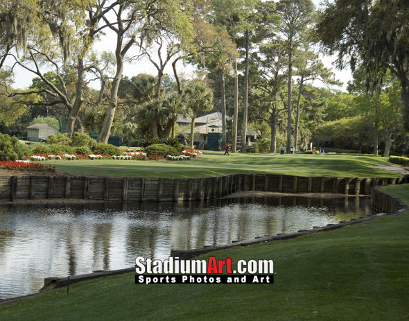 Harbour Town Golf Links at The Sea Pines Resort Golf Hole  8x10-48x36 Photo Print 1755