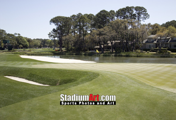 Harbour Town Golf Links at The Sea Pines Resort Golf Hole  8x10-48x36 Photo Print 1775