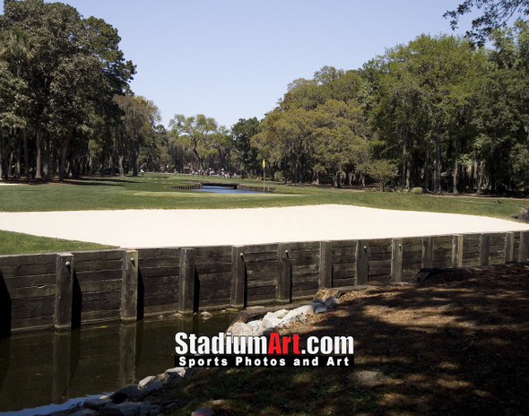 Harbour Town Golf Links at The Sea Pines Resort Golf Hole  8x10-48x36 Photo Print 1785