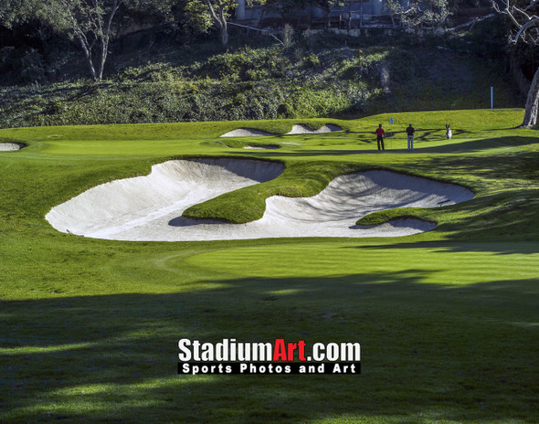 Riviera Country Club Golf Hole 6 8x10-48x36 Photo Print 1290