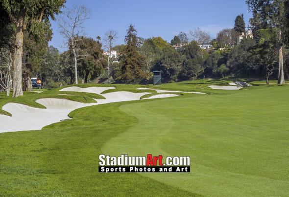 Riviera Country Club Golf Hole 7 8x10-48x36 Photo Print 1400