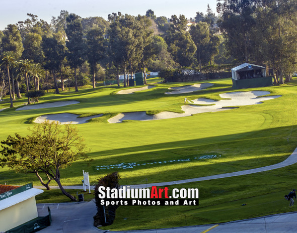 Riviera Country Club Golf Hole 10 8x10-48x36 Photo Print 1220