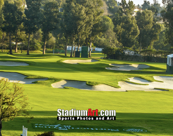 Riviera Country Club Golf Hole 10 8x10-48x36 Photo Print 1222