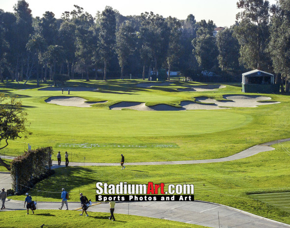 Riviera Country Club Golf Hole 10 8x10-48x36 Photo Print 1230