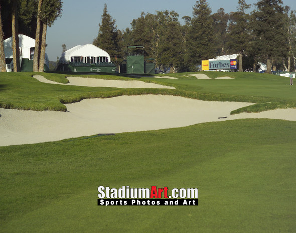 Riviera Country Club Golf Hole 17 8x10-48x36 Photo Print 1240