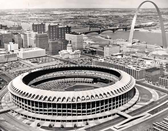 St. Louis Cardinals Old Busch Stadium 50 MLB 8x10-48x36 CHOICES