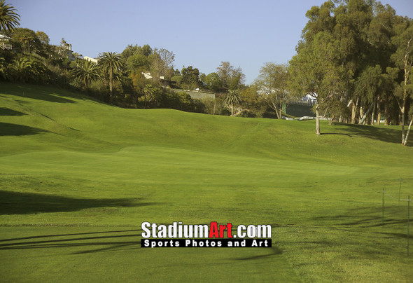 Riviera Country Club Golf Hole 18 8x10-48x36 Photo Print 1255