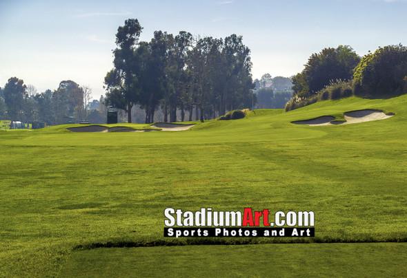 Riviera Country Club Golf Hole CC 8x10-48x36 Photo Print 1510