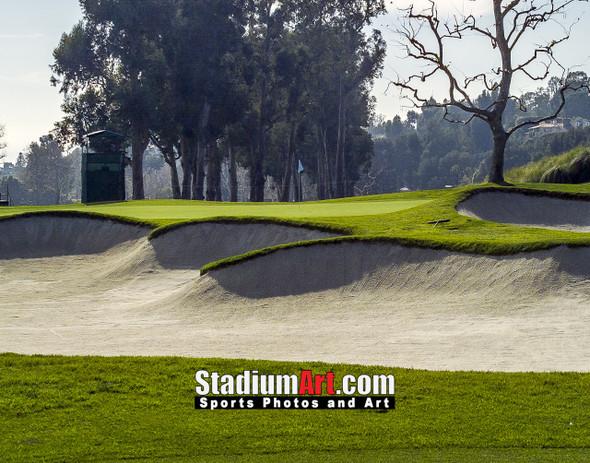Riviera Country Club Golf Hole CC 8x10-48x36 Photo Print 1515