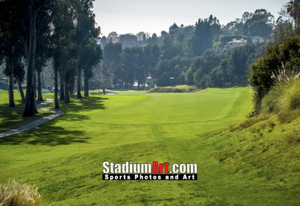 Riviera Country Club Golf Hole CC 8x10-48x36 Photo Print 1520