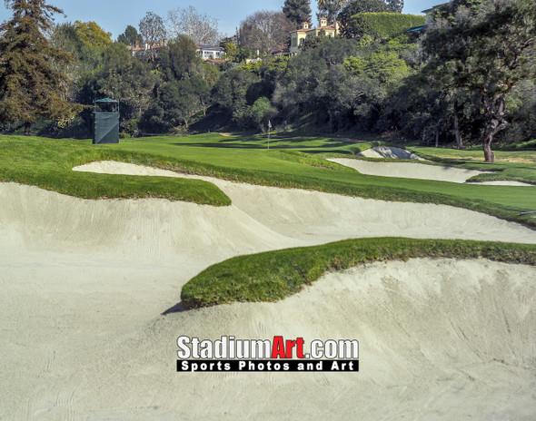 Riviera Country Club Golf Hole CC 8x10-48x36 Photo Print 1525