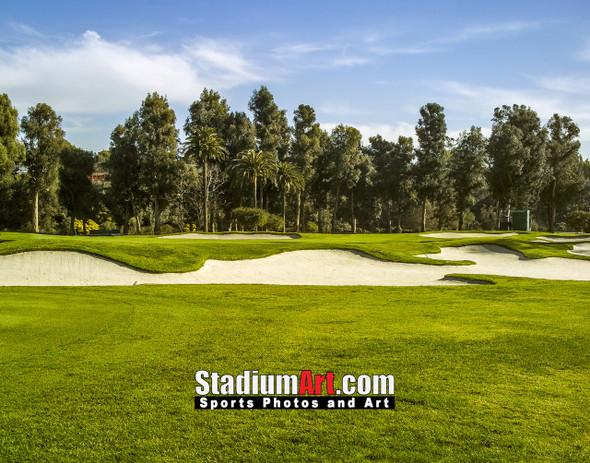 Riviera Country Club Golf Hole CC 8x10-48x36 Photo Print 1530