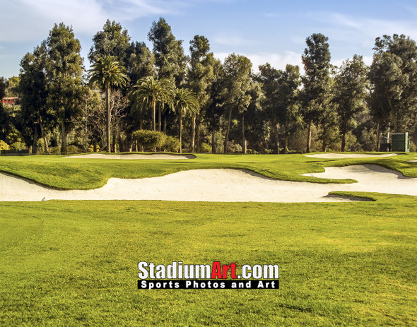 Riviera Country Club Golf Hole CC 8x10-48x36 Photo Print 1535