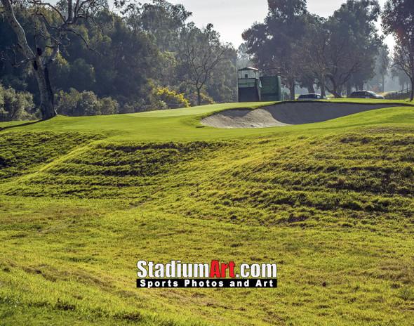 Riviera Country Club Golf Hole CC 8x10-48x36 Photo Print 1550