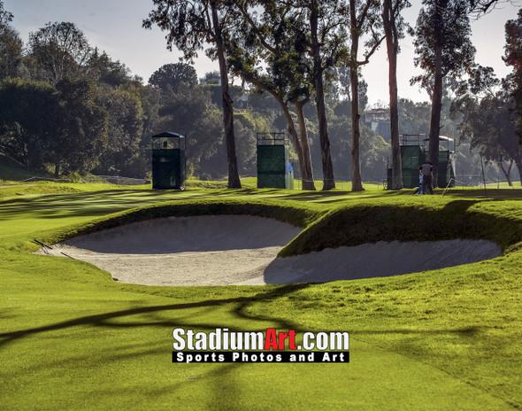 Riviera Country Club Golf Hole CC 8x10-48x36 Photo Print 1555