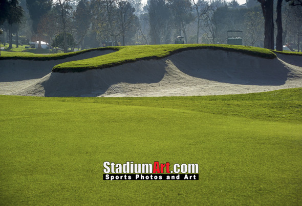 Riviera Country Club Golf Hole CC 8x10-48x36 Photo Print 1570