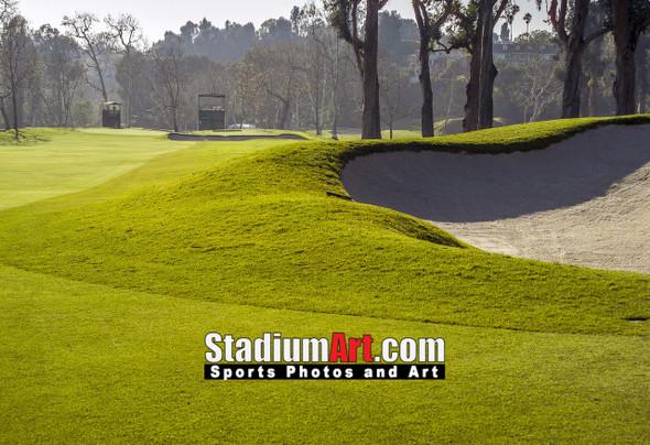 Riviera Country Club Golf Hole CC 8x10-48x36 Photo Print 1575