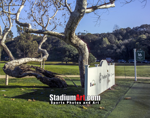 Riviera Country Club Golf Hole CC 8x10-48x36 Photo Print 1580