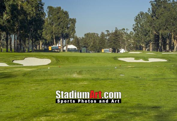 Riviera Country Club Golf Hole CC 8x10-48x36 Photo Print 1595