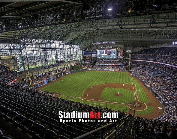 Houston Astros Minute Maid Park MLB Baseball Photo 1240 8x10-48x36
