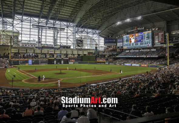 Houston Astros Minute Maid Park MLB Baseball Photo 1250 8x10-48x36