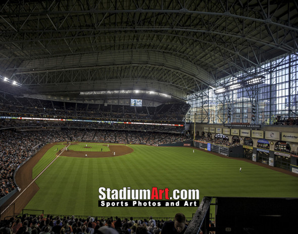 Houston Astros Minute Maid Park MLB Baseball Photo 1310 8x10-48x36