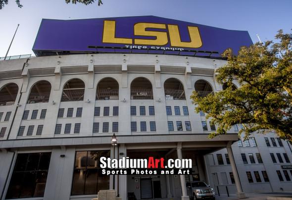 LSU Tigers Tiger Stadium 1330 8x10-48x36 1250
