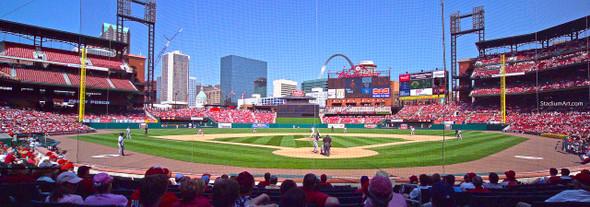 St. Louis Cardinals Busch Stadium 13 MLB 8x10-48x36 CHOICES