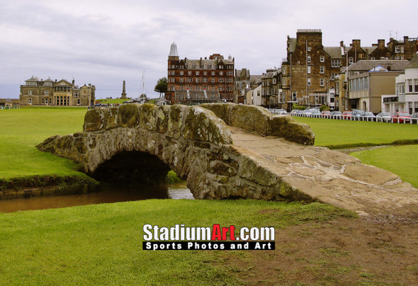 St Andrews Links Old Course 2110 Swilkens Bridge  8x10-48x36 Photo Print
