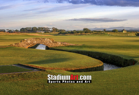 St Andrews Links Old Course 2180 Swilkens Bridge  8x10-48x36 Photo Print