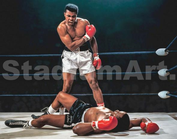 Muhammad Ali Boxer Liston Cassius Marcellus Clay Boxing
