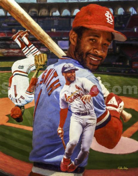 St Louis Cardinals Ozzie Smith
