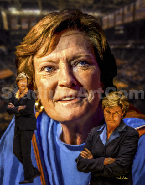 Tennessee Lady Vols Womens Pat Summitt Basketball Coach
