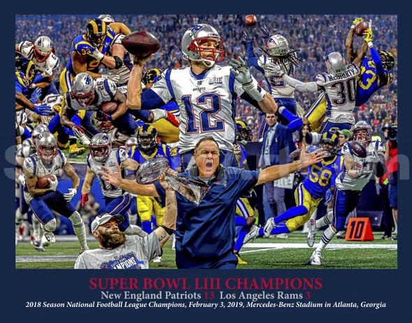 New England Patriots Super Bowl LIII 2019 Tom Brady