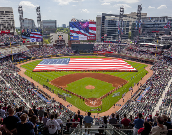 Atlanta Braves SunTrust Park New Baseball Stadium 01 MLB 8x10-48x36 CHOICES